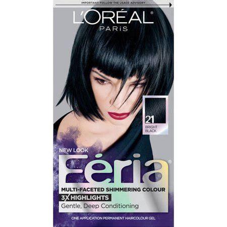 l oreal hair color 1b blue black cooler excellence creme richesse level3 ebay l oreal feria multi faceted shimmering color walmart