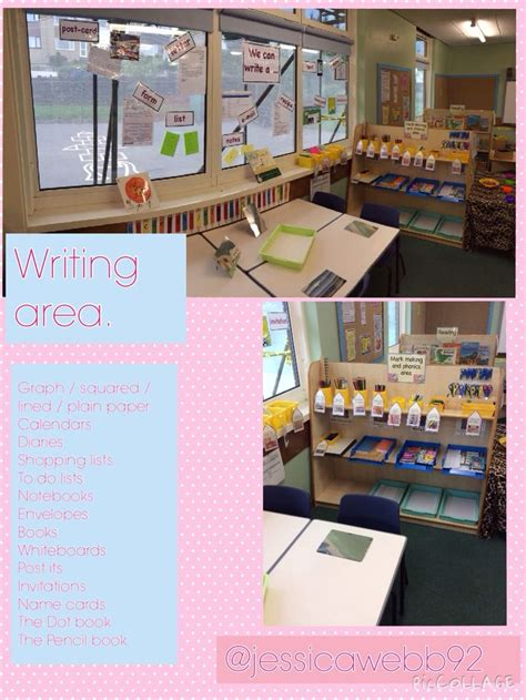 classroom layout early years writing area early years classroom layouts pinterest