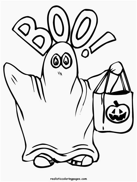 happy halloween coloring pages realistic coloring pages