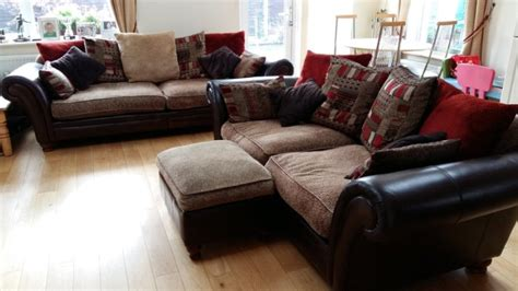 perez sofa for sale dfs 4 seater 3 seater pillow back sofa footstool for sale