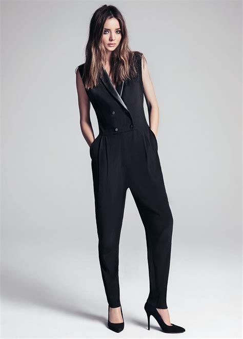 Tuxedo Romper Blackred mango tuxedo style jumpsuit in black lyst