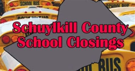 Schuylkill County Assistance Office by Skook News Schuylkill County School Delays And Closings