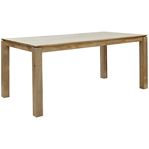 buy lewis asha wooden 6 8 seater dining table