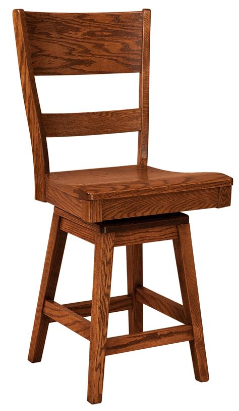 Amish Bar Stools Sale by Genesis Swivel Bar Stool From Dutchcrafters Amish Furniture