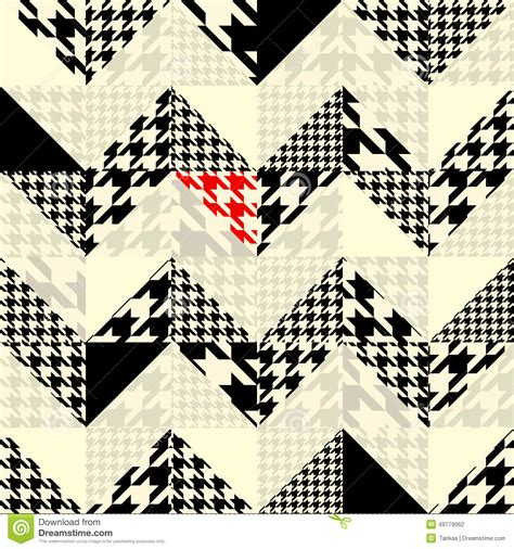 chevron seamless pattern background retro vintage chevron of triangles patchwork with classic stock vector