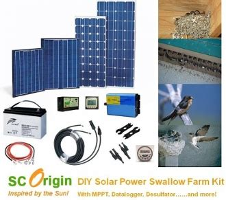 do it yourself solar power malasyia solar power swiftlet farm kit