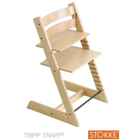 chaise haute tripp trapp naturelle stokke pour enfant d 232 s