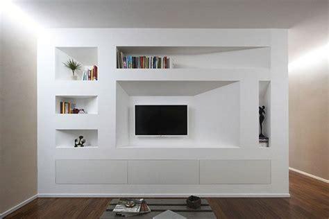 Parete Attrezzata In Cartongesso Per Tv by Best 25 Piano Living Rooms Ideas On Piano