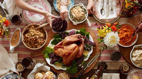 Traditional Thanksgiving Food Usa