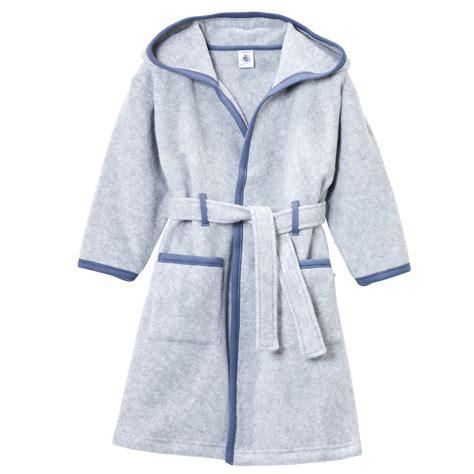 robe de chambre enfant polaire petit bateau robe de chambre en polaire bleu 20239