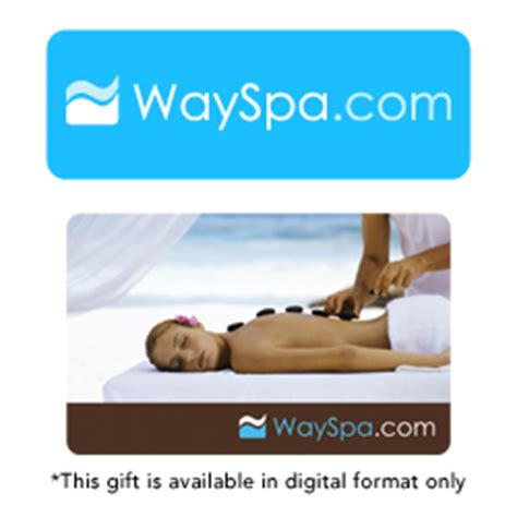 Wayspa Gift Card - buy wayspa com gift cards at giftcertificates com