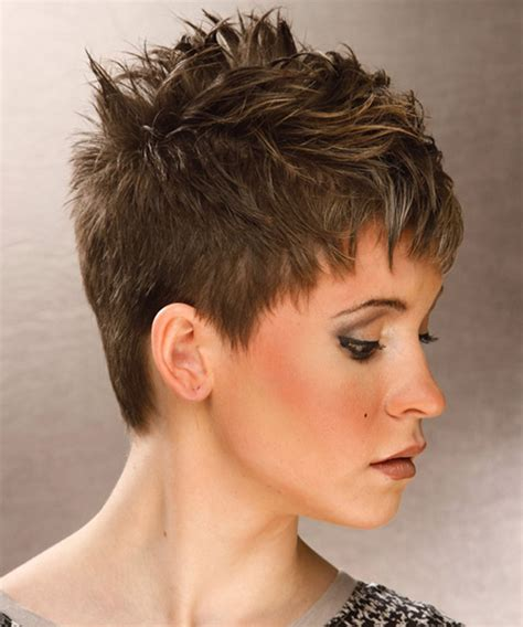 spikey styles for grey hair very short spikey hairstyles for women short hairstyles