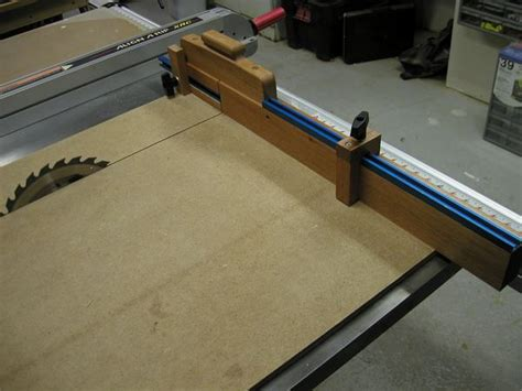 woodworking sled crosscut sled