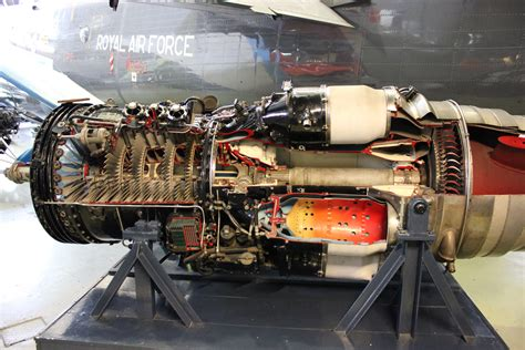 jet engine cross section inside an raf jet engine partial cross section x post r