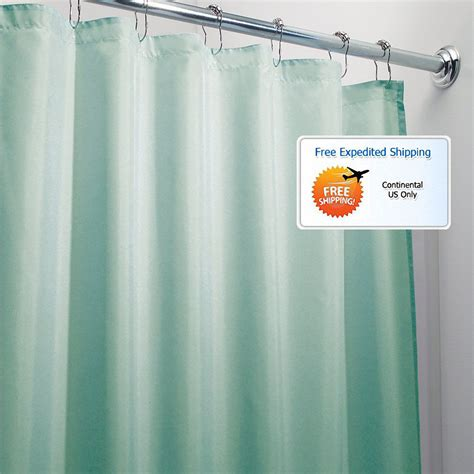 Aqua Bathroom Shower Curtain 72 X 72 Mold Mildew Free