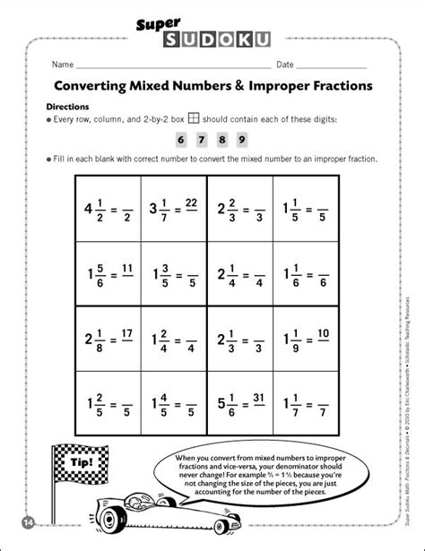 Mixed Numbers Worksheet by 100 Ordering Mixed Fractions Worksheet Compare