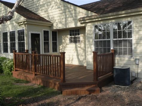 backyard deck photos trex decks advancedeck and sunroom trusted illinois
