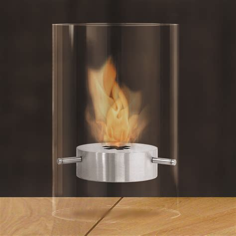 feuerstelle glas ponton fireplace small
