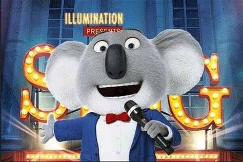 emoji film koala buster moon sing pinterest