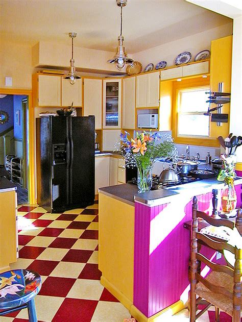 yellow kitchen cabinets eclectic kitchen colorful eclectic kitchens images