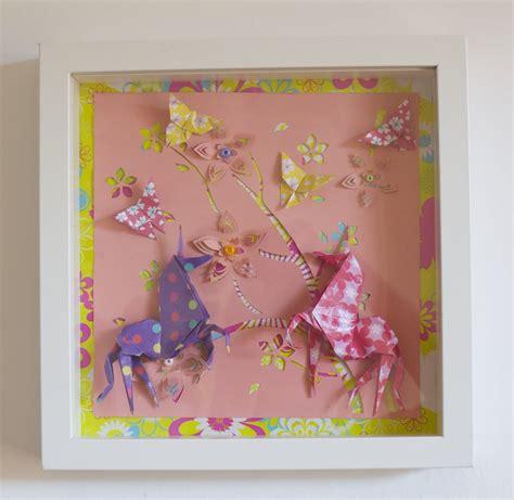 cadre chambre enfant cadre origami b 233 b 233 d 233 coration chambre enfant animaux