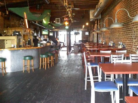 belmont house of smoke norfolk va upstairs bar scene full menu upstairs or downstairs