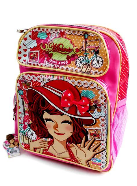 Tas Selempang Ransel Topi tas sekolah sd anak perempuan toko bunda