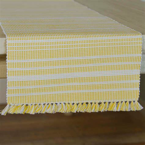 90 inch table runner madeline yellow 90 inch table runner the patch
