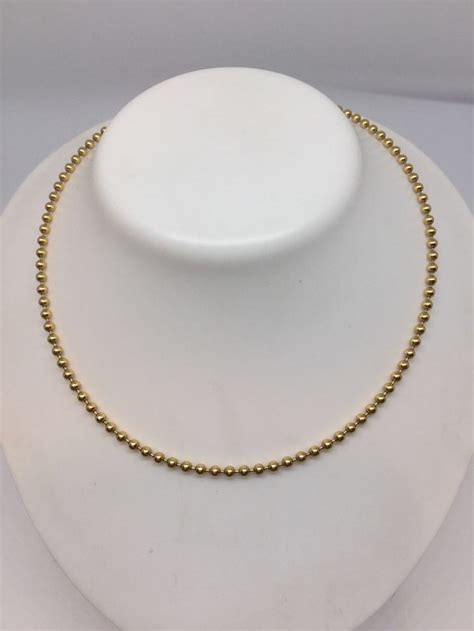 cadenas oro tous cadena de oro tous de bola de 18 kt comprar joyas y