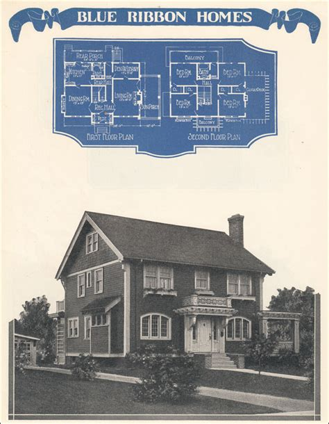 colonial revival with an artistic aesthetic 1924 radford