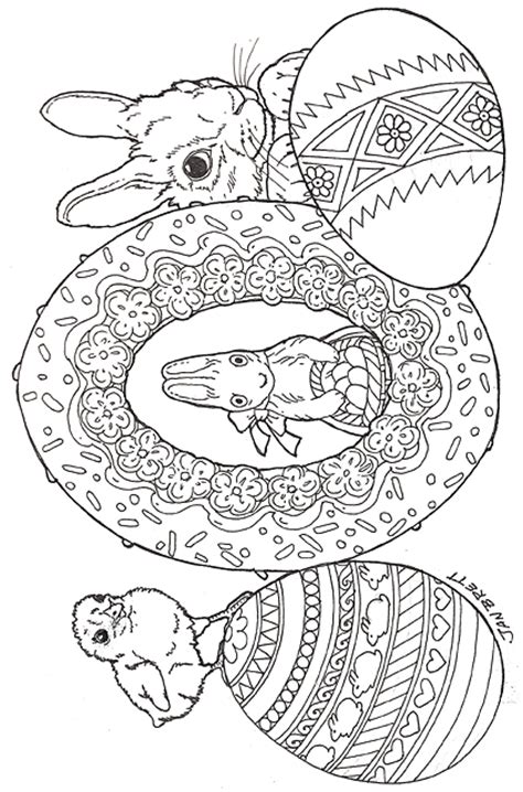 the hat coloring page jan brett free jan brett the umbrella coloring pages