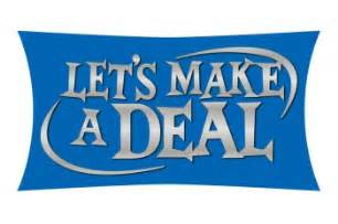 how to make a deal on a new car no 16 the patty and paul show let s make a deal