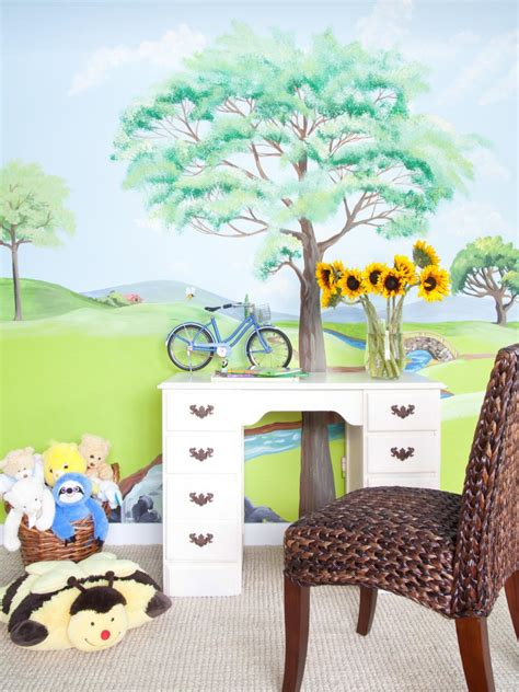 wall murals for rooms creating a wall mural in a kid s room diy