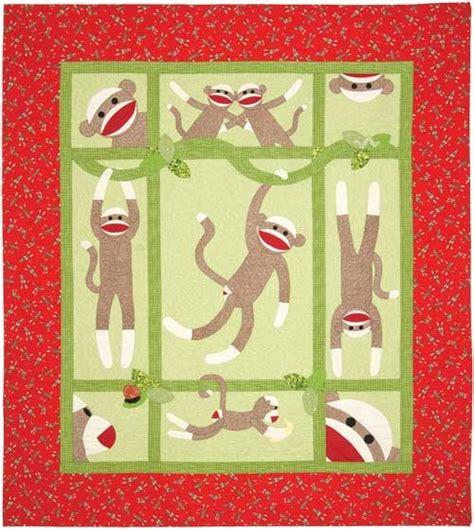 quilt pattern monkey sock monkey quilt quilts pinterest