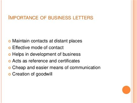 business letters important businessletter 121216123347 phpapp01