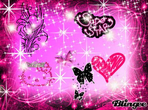 cornici glitterate immagine the pink 113114847 blingee