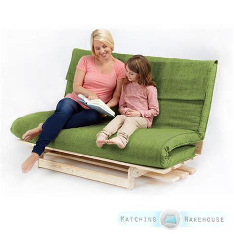 double futon base double 2 3 seater textured fabric wood futon base foam