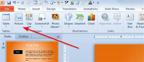 insert powerpoint template creating a product catalog in powerpoint 2010