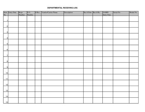 Receiving Checklist Template Images Reverse Search Warehouse Receiving Checklist Template