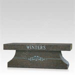 Cemetery Benches Prices Colonial Granite Cemetery Bench