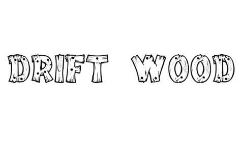 awesome examples   wood font naldz graphics