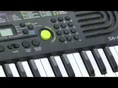 Casio Keyboard Mini Sa 46 casio sa 46 mini keyboard