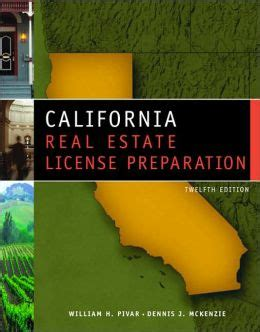 california real estate prep the complete guide to passing the california real estate salesperson license the time books california real estate license prep edition 12 by