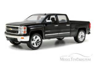 Chevy Silverado Pickup Truck, Black   Jada Toys Just Trucks 97018   1
