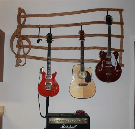 Multi Guitar Wall Rack by Guitar Hanger Wall Mount By Dougsrustics On Etsy