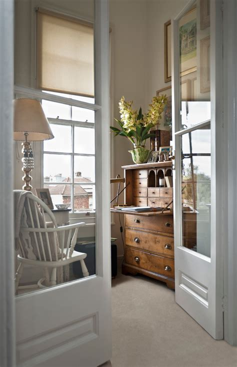 interior french doors  office video