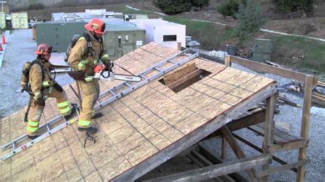 ladder on a roof vertical ventilation roof ladder