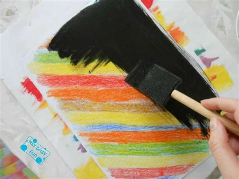 How To Make Scratch Paper With Acrylic Paint - how to make scratch paper with acrylic paint 28 images