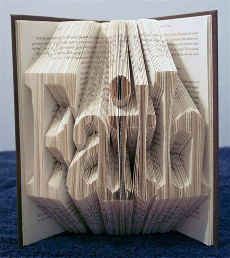 Origami Book Folding - simply creative the folded book by isaac g salazar