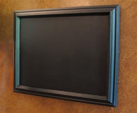 chalkboard painting glass how to turn glass in a frame into a chalkboard